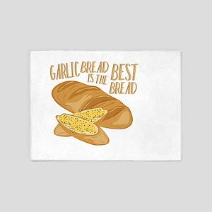 Garlic Bread 5'x7'Area Rug