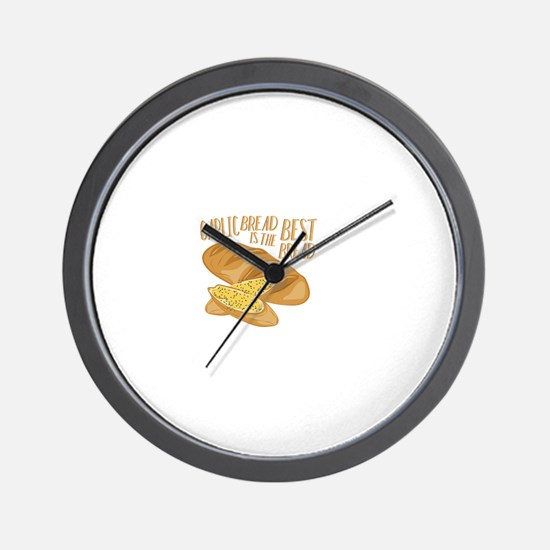 Garlic Bread Wall Clock