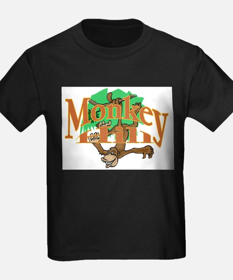 Monkey Hill Too Ash Grey T-Shirt