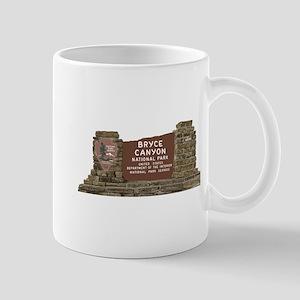 Bryce Canyon National Park Sign, Utah Mug