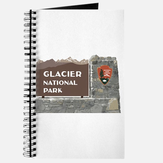 Glacier National Park Sign, Montana Journal