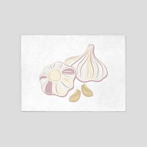 Garlic Bulbs 5'x7'Area Rug
