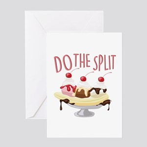 Do The Split Greeting Cards