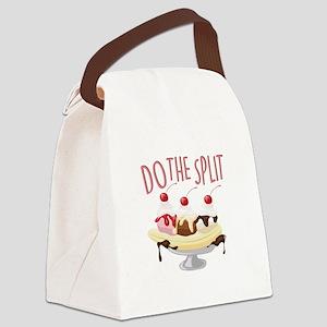 Do The Split Canvas Lunch Bag
