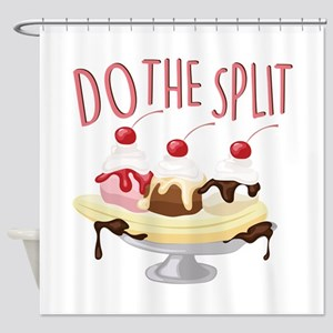 Do The Split Shower Curtain