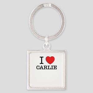 I Love CARLIE Keychains