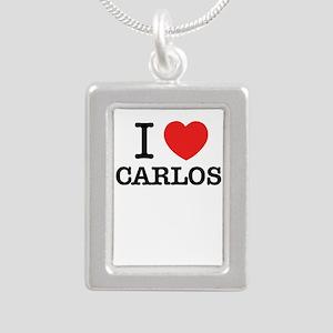 I Love CARLOS Necklaces