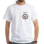 VP-31 White T-Shirt