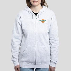 Oceanside - California. Women's Zip Hoodie