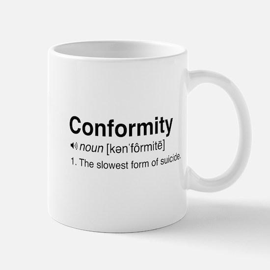Conformity Definition Mugs