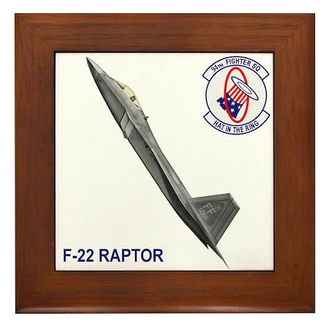 94th Fighter Squadron Framed Tile