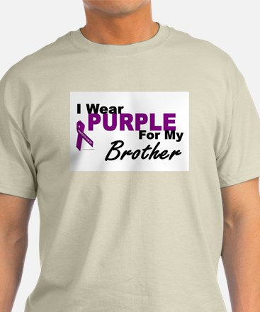 I Wear Purple For My Brother 3 (PC) T-Shirt