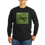 istyle green Long Sleeve Dark T-Shirt