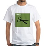 istyle green White T-Shirt