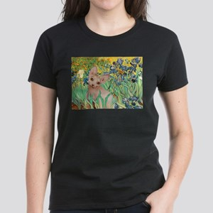 Irises / Sphynx Women's Dark T-Shirt