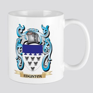 Edginton Coat of Arms - Family Crest Mugs