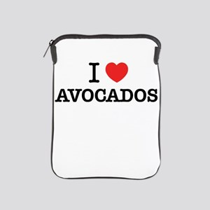 I Love AVOCADOS iPad Sleeve