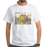 figure and landscape White T-Shirt