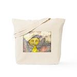 figure and landscape Tote Bag