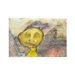 figure and landscape Rectangle Magnet (10 pack)