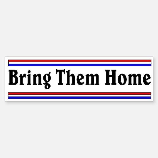 Bring Them Home Bumper Bumper Bumper Sticker