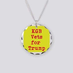 KGB Vets for Trump Necklace