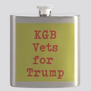 KGB Vets for Trump Flask