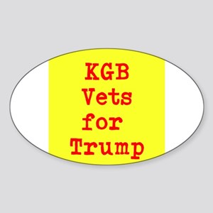 KGB Vets for Trump Sticker