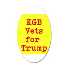 KGB Vets for Trump Wall Decal