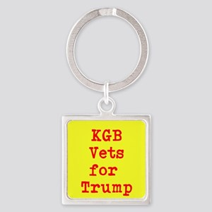 KGB Vets for Trump Keychains