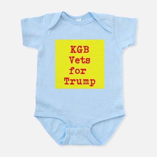 KGB Vets for Trump Body Suit