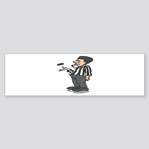 Hockey Referee Bumper Sticker