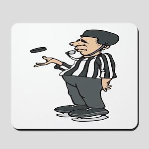 Hockey Referee Mousepad
