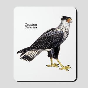 Crested Caracara Bird Mousepad