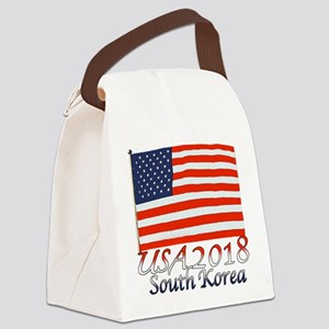 Pyeongchang, South Korea Canvas Lunch Bag