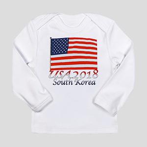 Pyeongchang, South Kore Long Sleeve Infant T-Shirt