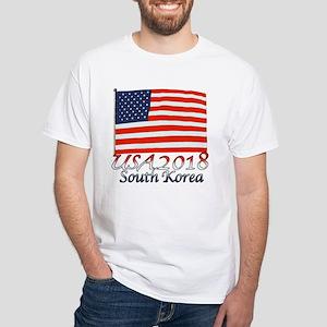 Pyeongchang, South Korea Men's Classic T-Shirts