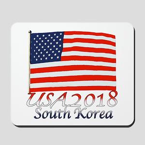 Pyeongchang, South Korea Mousepad