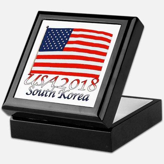Pyeongchang, South Korea Keepsake Box