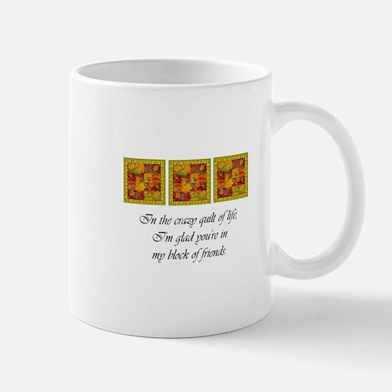 Friends - Crazy Quilt Mugs