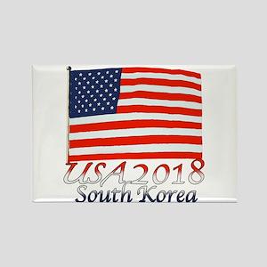 Pyeongchang, South Korea Rectangle Magnet