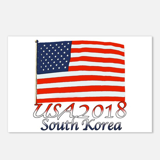 Pyeongchang, South Korea Postcards (Package of 8)