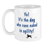 Dogs Run Naked Mug