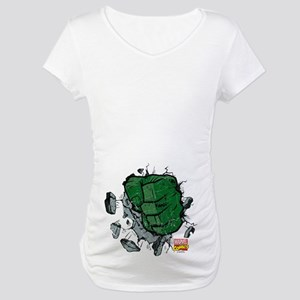Hulk Fist Maternity T-Shirt