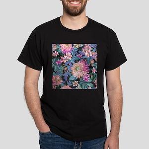 Exotic Floral Dark T-Shirt
