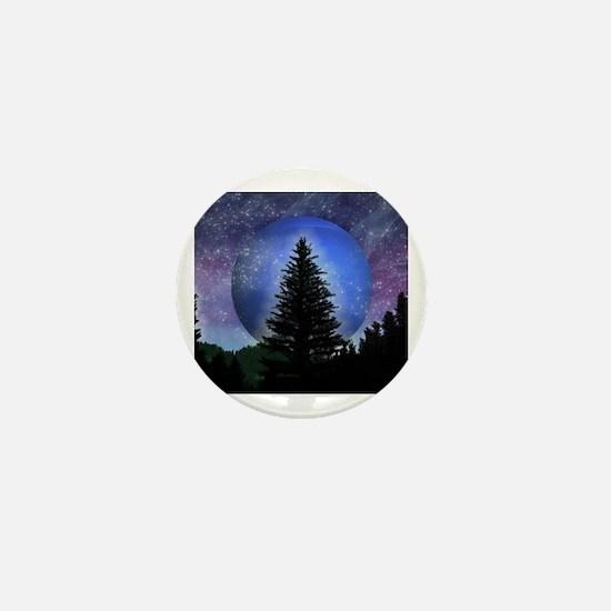 Unique Night sky Mini Button