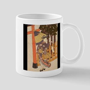 Japanese Women in Kimono Mugs
