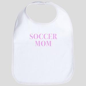 Soccer Mom Print Design for Mothers Baby Bib
