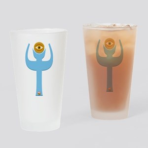 Doctor Strange Costume Abstract Drinking Glass