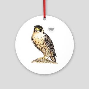 Peregrine Falcon Bird Keepsake (Round)